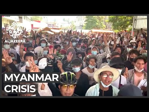 Protests, mourning as world condemns Myanmar crackdown
