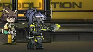 Jessica  - (Arknights) - [Arknights] Jessica Raythean Pioneer Base Animation