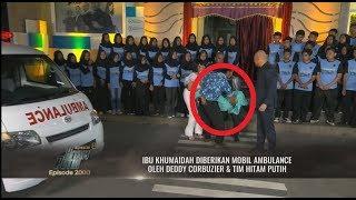 Bahagia Sampai Pingsan, Ibu Khumaidah Diberi Mobil Ambulance | HITAM PUTIH (28/11/18) Part 4