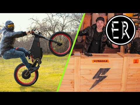 Stealth B-52 Bomber unboxing + first ride!!! The 50 mph electric bike
