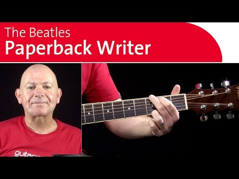 Watch Paperback Writer by the Beatles Guitar Chords - Breakdown on YouTube
