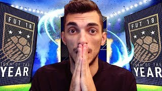 WALKOUT NEI PACKS DA 125K DEI TOTY! PACK OPENING FIFA 18 ULTIMATE TEAM