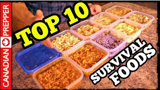 Top 10 Freeze Dried Foods (Long Term Food Storage)