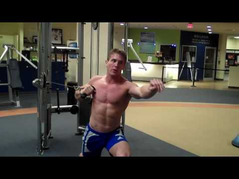 Cable One Arm Chest Press