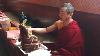 "Blessing ceremony for the 18"" Shakyamuni Buddha Statue"