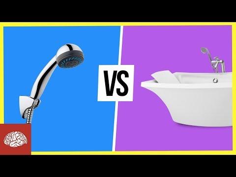 Dusche vs. Badewanne - Stehen oder Liegen?
