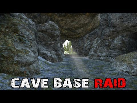 CAVE BASE RAID! - DayZ Standalone EP45