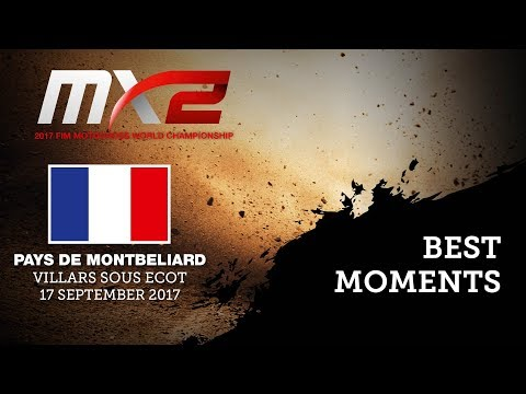 MXGP of Pays de Montbeliard 2017 - Best Moments MX2 - motocross