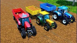 Tractorul pentru copii cu tractoare pentru copii 🚜 5 Serie
