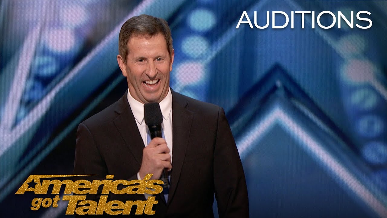 Bryan Kellen: Man Leaves Multi-Million-Dollar Company To Pursue Comedy - America's Got Talent 2018 thumbnail
