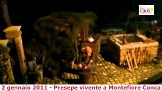 preview picture of video 'Presepe Vivente a Montefiore Conca (RN)'