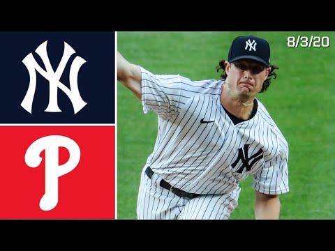 New York Yankees Vs. Philadelphia Phillies | Game Highlights | 8/3/20