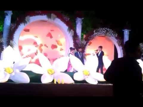 MC Viennay Hosting Wedding Gig For Jain Family