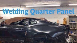 Rebuilding A Wrecked 2017 Chevrolet Camaro SS Part 8