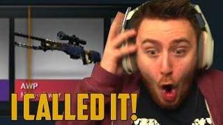I CALLED IT! (CS:GO Case Opening)