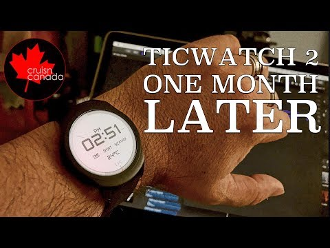 Mobvoi TicWatch 2 Review | It\'s Been A Month, What Do I think?