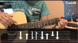 """Cómo Tocar """"Mientes Tan Bien"""" De Sin Bandera En Guitarra Acústica (HD) Tutorial   Christianvib"""