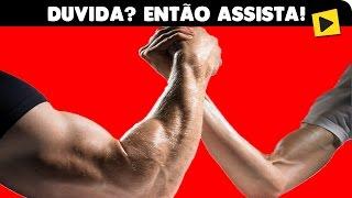 🔴 COMO VENCER QUALQUER UM NA QUEDA DE BRAÇO!!