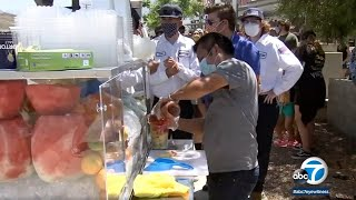 Fruit vendor apparently harassed by couple in Santa Clarita | ABC7
