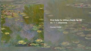 First Suite for Military Band, Op. 28 no. 1,