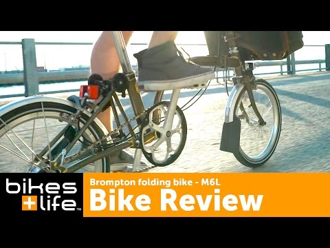 Brompton Folding Bike Video Review