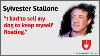 Sylvester Stallone Views On Living A Good Life   The University Of Life
