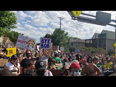 LIVE: Coverage of 'Bob Kkkroll must go! Solidarity Rally for Justice'