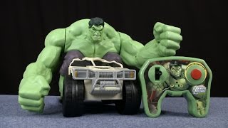 Marvel Avengers Remote Control Hulk Smash XPV from Jakks Pacific