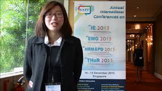 Yu Gen Ling Testimonial