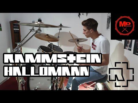 RAMMSTEIN - HALLOMANN (DRUM COVER)