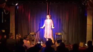 Sylvia Stems sings Don't Cry Baby by Etta James