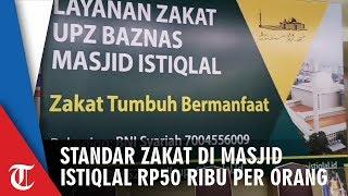 Zakat Fitrah di Masjid Istiqlal, Standarnya Rp50 Ribu Per Orang