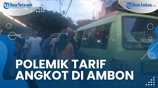 Dishub Larang Sopir Angkot di Ambon Minta Mahasiswa Bayar Tarif Sama dengan Penumpang Umum
