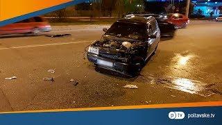 Подробиці смертельної аварії за участю мотоцикла та легковика у Полтаві