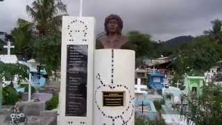 preview picture of video 'Gravestone of Sebastiao Gomes in Timor Leste cemetery'