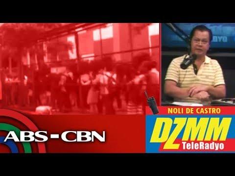 [ABS-CBN]  DZMM TeleRadyo: Pila sa MRT-3 North Avenue station