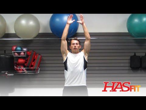 Pre workout Dynamic Stretch