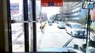 「前面展望」新潟交通の路線バス0002