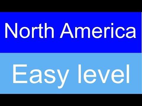 Flags of North America quiz - Level: Easy