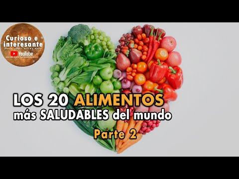20 Alimentos Más Saludables Del Mercado