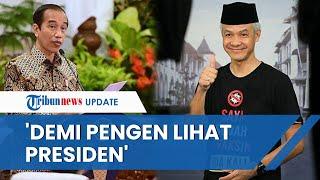 Rela Tak Sarapan demi Sambut Kedatangan Presiden Jokowi dan Ganjar Pranowo: Demi Pengen Lihat