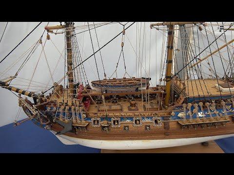 Modelismo Naval - Maquetas de Barcos Históricos - Festival del Mar en Santander.