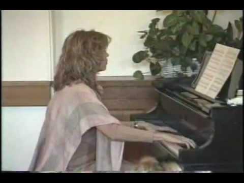 Stephanie plays Maleguena on piano