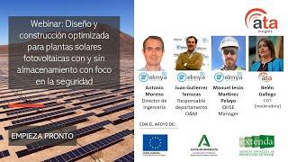 Webinar: Diseño y construcción optimizada para plantas solares FV con y sin almacenamiento