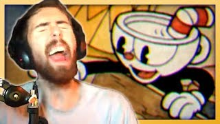 Asmongold Plays Cuphead for the First Time (PERFECT GAMEPLAY)