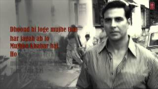 Kaun Mera Full Song with Lyrics | Special 26 | Akshay Kumar