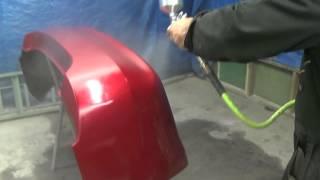 Покраска авто бампера новичком