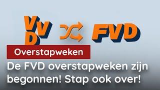 De FVD Overstapweken zijn begonnen! Stap ook over!