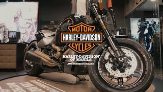 Harley-Davidson FXDR™ 114 in the flesh...