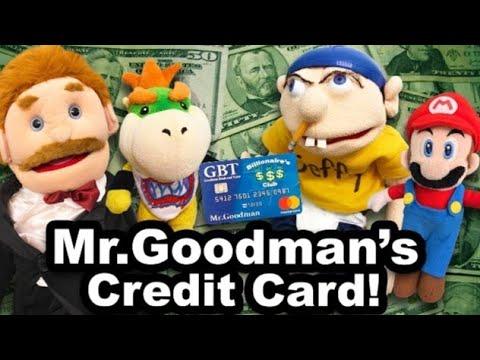 Mr.Goodman's Credit Card